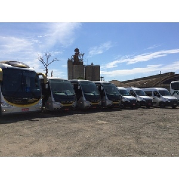 Aluguéis de Micro ônibus Valor na Chácara Lagoinha - Aluguel de Micro ônibus em Santo André