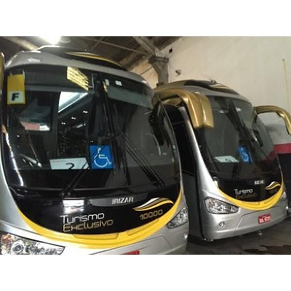 Aluguel de ônibus de Turismo Onde Achar no Jardim São Francisco - Aluguel de ônibus Preço