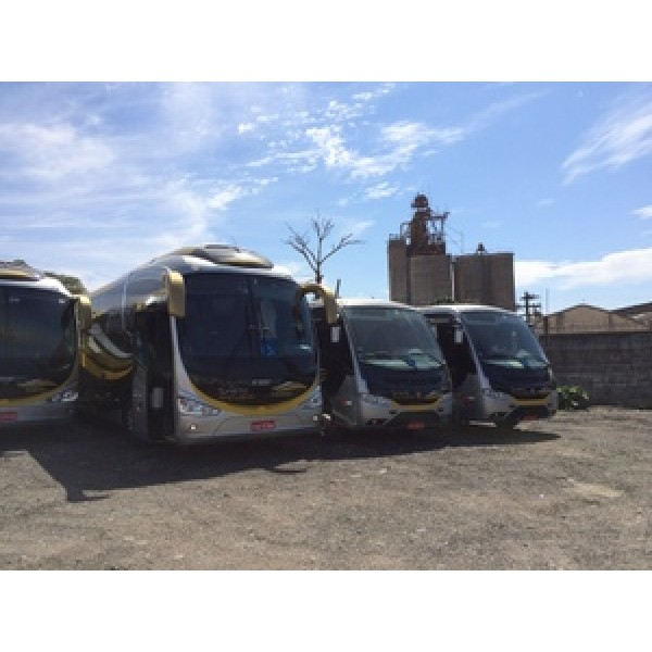 Aluguel Micro ônibus Melhor Preço no Jardim São Francisco - Aluguel de Micro ônibus em Santo André