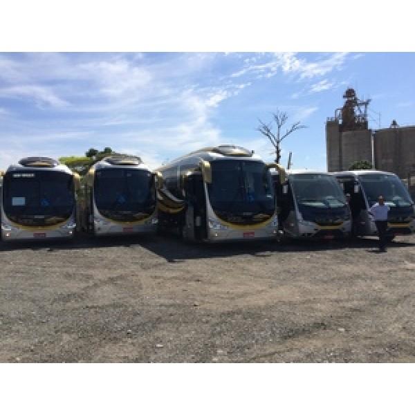 Aluguel Micro ônibus Preço Baixo no Jardim das Camélias - Empresa de Aluguel de Micro ônibus