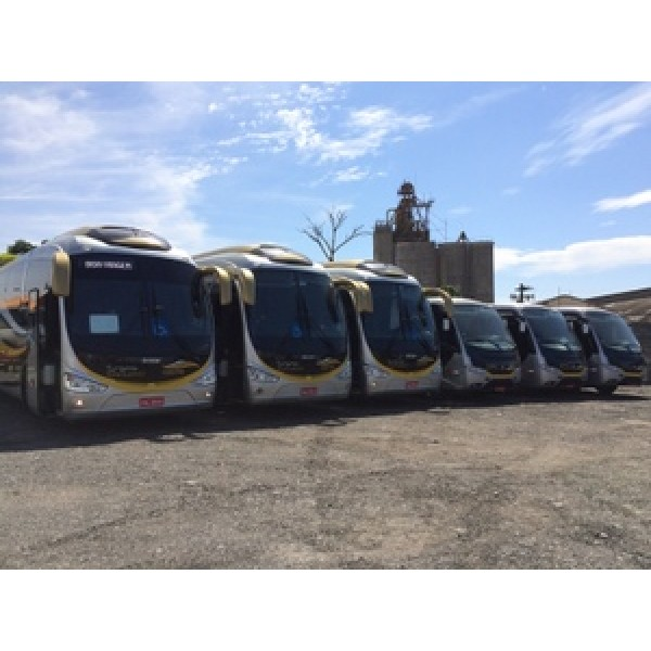 Aluguel Micro ônibus Preços Baixos na Vila Bela Vista - Aluguel de Micro ônibus em Campinas