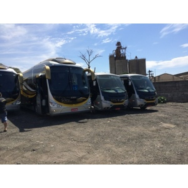 Empresa de Aluguel de ônibus nos Mirantes da Fazenda - Aluguel de ônibus para Viagem