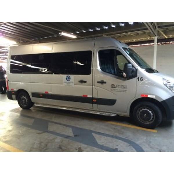 Empresas de Locação de Vans no Jardim Alvorada - Van com Motorista