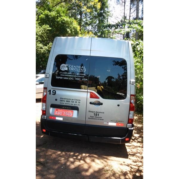 Locação de Vans em Toca do Tatu - Locação de Vans com Motorista