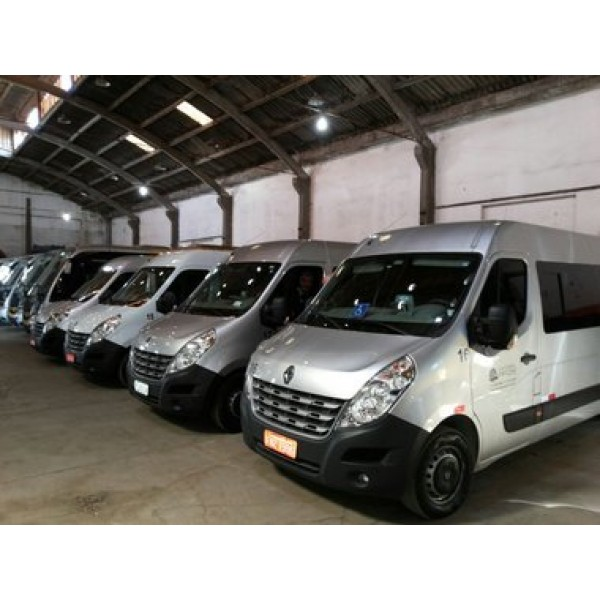 Locação de Vans na Vila Jardini - Aluguel de Vans SP Preço