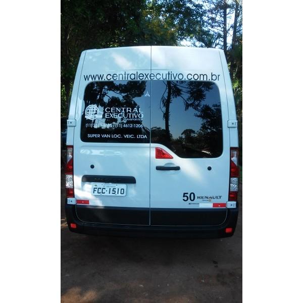 Locações de Vans no Campo Grande - Locação de Vans com Motorista