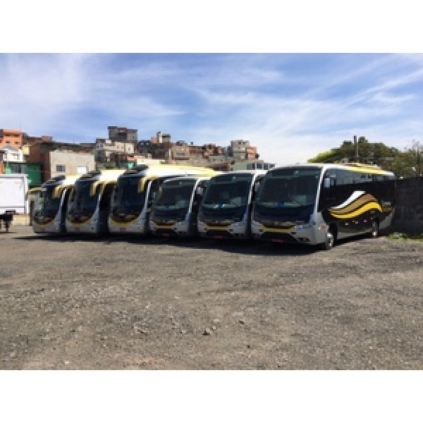 Micro ônibus para Aluguel Melhor Preço no Jardim Elisa Maria - Aluguel de Micro ônibus no ABC