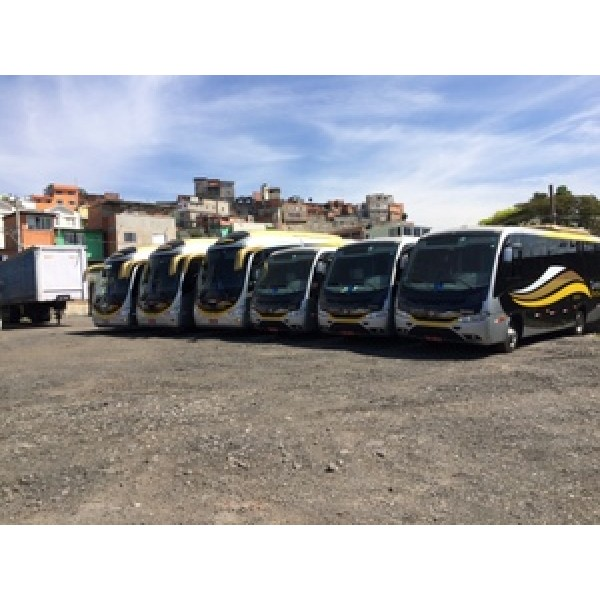 Micro ônibus para Aluguel Melhores Preços na Vila Humaitá - Aluguel de Micro ônibus na Zona Sul