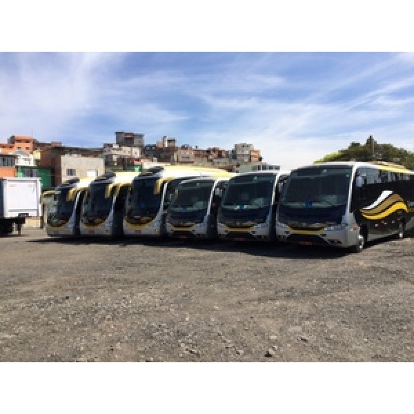 Micro ônibus para Aluguel Onde Contratar na Vila Militar - Aluguel de Micro ônibus na Zona Oeste