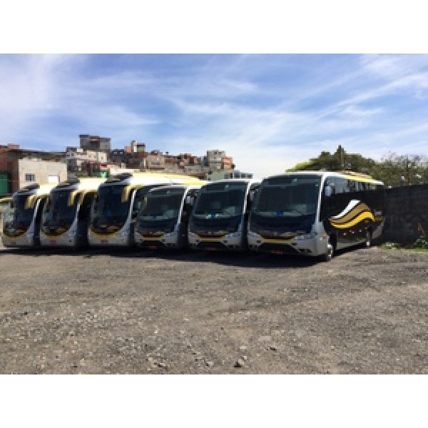 Micro ônibus para Aluguel Preços Baixos no Jardim São Carlos - Aluguel de Micro ônibus em Campinas