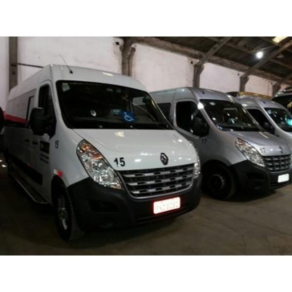 Orçamento da Locação de Van no Jardim das Belezas - Aluguel de Vans com Motorista