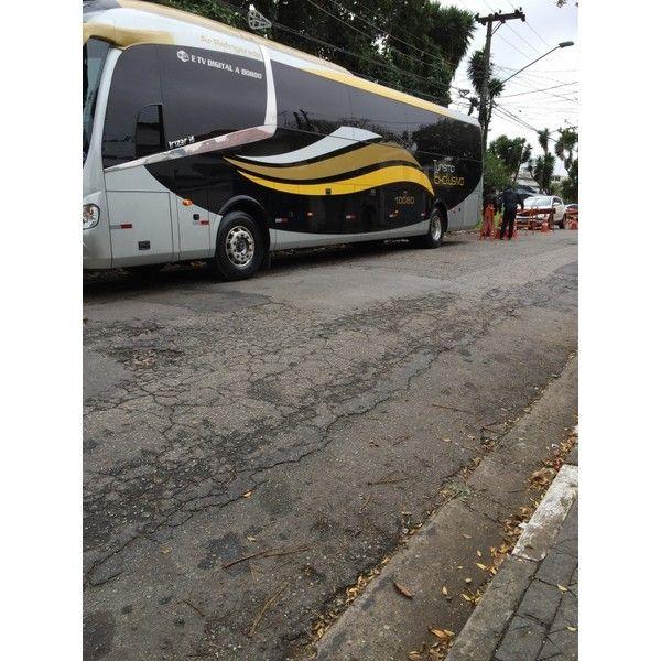 Serviço de Locação de ônibus na Bosque dos Eucaliptos - Fretamento ônibus