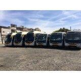 Aluguel de ônibus de turismo na Vila Valparaíso