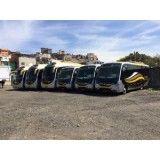 Aluguel de ônibus de turismo valor na Vila Roschel