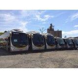 Aluguel de ônibus melhores preços no Jardim Orbam