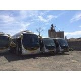 Aluguel de ônibus no Jardim Santa Francisca Cabrini