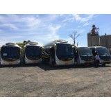 Aluguel de ônibus para excursão no Morro Saboó