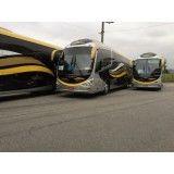 Locação de ônibus na Horto Santo Antonio