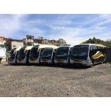 Locação de ônibus no Parque Anhanguera