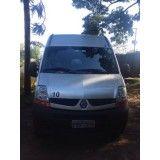 Locação de vans valor em Guarapará