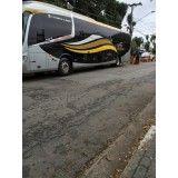 Locações para ônibus na Vila Isabel