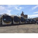 Micro ônibus para aluguel no Porto Paquetá