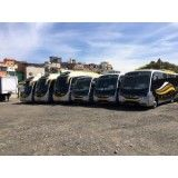 Micro ônibus para aluguel onde contratar em Guapituba
