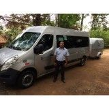 Onde achar locação de vans no Jardim Cleide