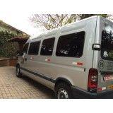 Onde achar vans para alugar com motorista no Jardim Iporanga