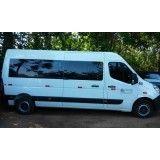 Onde fazer um aluguel de vans executivas no Morro do Macaco