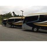 Ônibus de aluguel no Mirante I