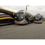Ônibus para locações com motoristas no Residencial Oito