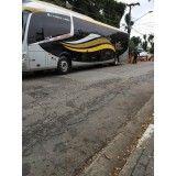 Preço de locação de transportes na Cecap