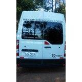 Serviço de Locação de Van no Parque dos carmargos