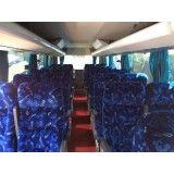 Valor dos serviços de locação de ônibus no Jardim do Tiro