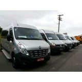 Vans com motoristas para locação na Vila Margareth