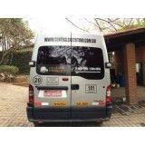 Vans para alugar com motorista no Jardim Campina Grande