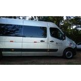 Vans para Locação com Motorista na Vila Bela Vista