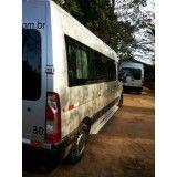 Vans para locação preço baixo no Parque Andreense