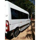 Vans para locação preço no Sítio Botuquara