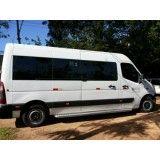 Vans para locação valor na Vila Matias