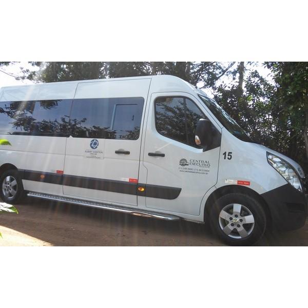 Translado de Van no Jardim Coimbra - Empresa para Translado