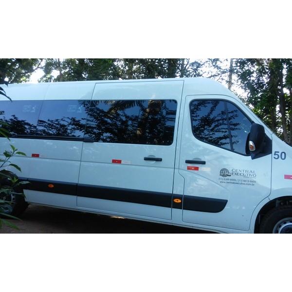 Valores Aluguel de Vans Executivas na Monte Santo - Empresa de Micro ônibus