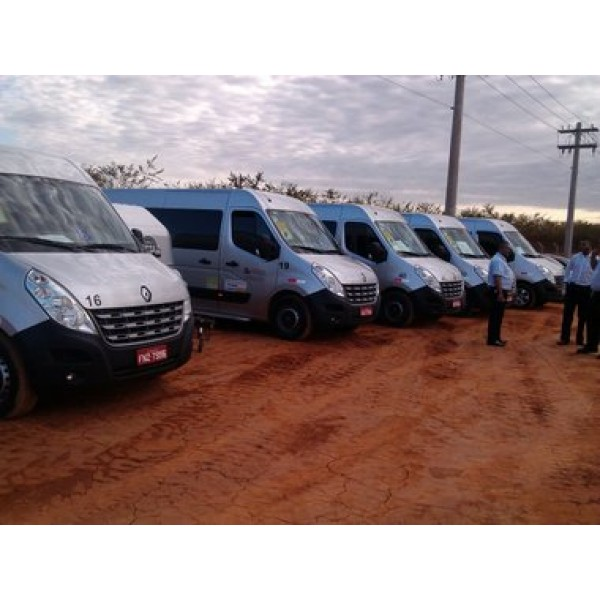 Van com Motorista para Locação no Jardim Marcel - Locadoras de Vans