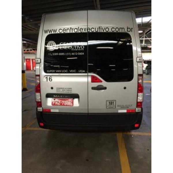 Van para Transporte de Passageiros no Jardim Santa Teresinha - Vans para Aluguel com Motorista