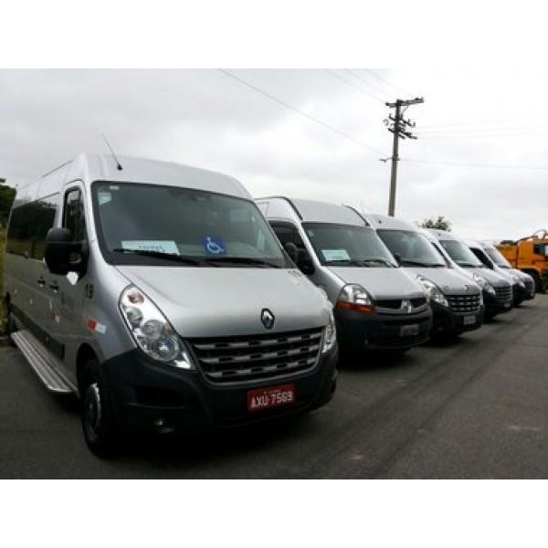 Vans com Motoristas para Locação na Residencial Três - Locadora de Vans em SP