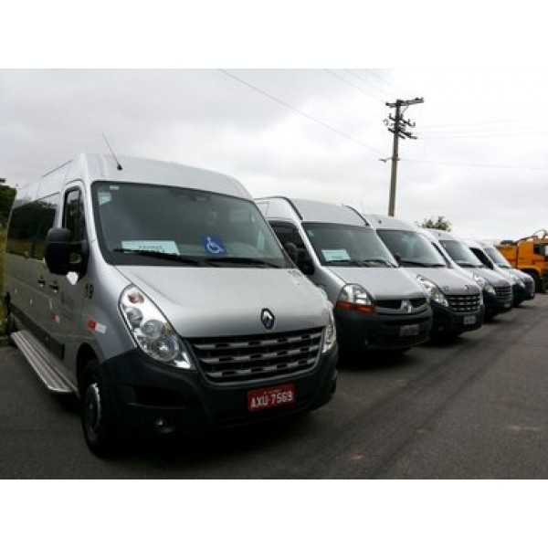Vans com Motoristas para Locação no Jardim Elisio - Aluguel de Van em Santo André