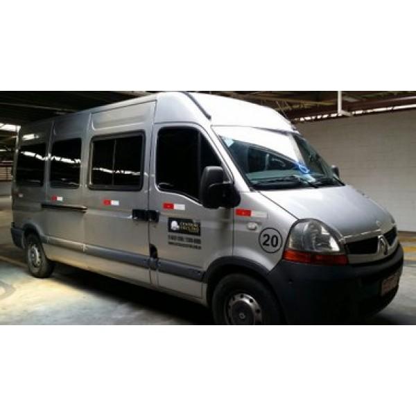 Vans para Alugar na Colônia - Aluguel de Vans com Motorista SP